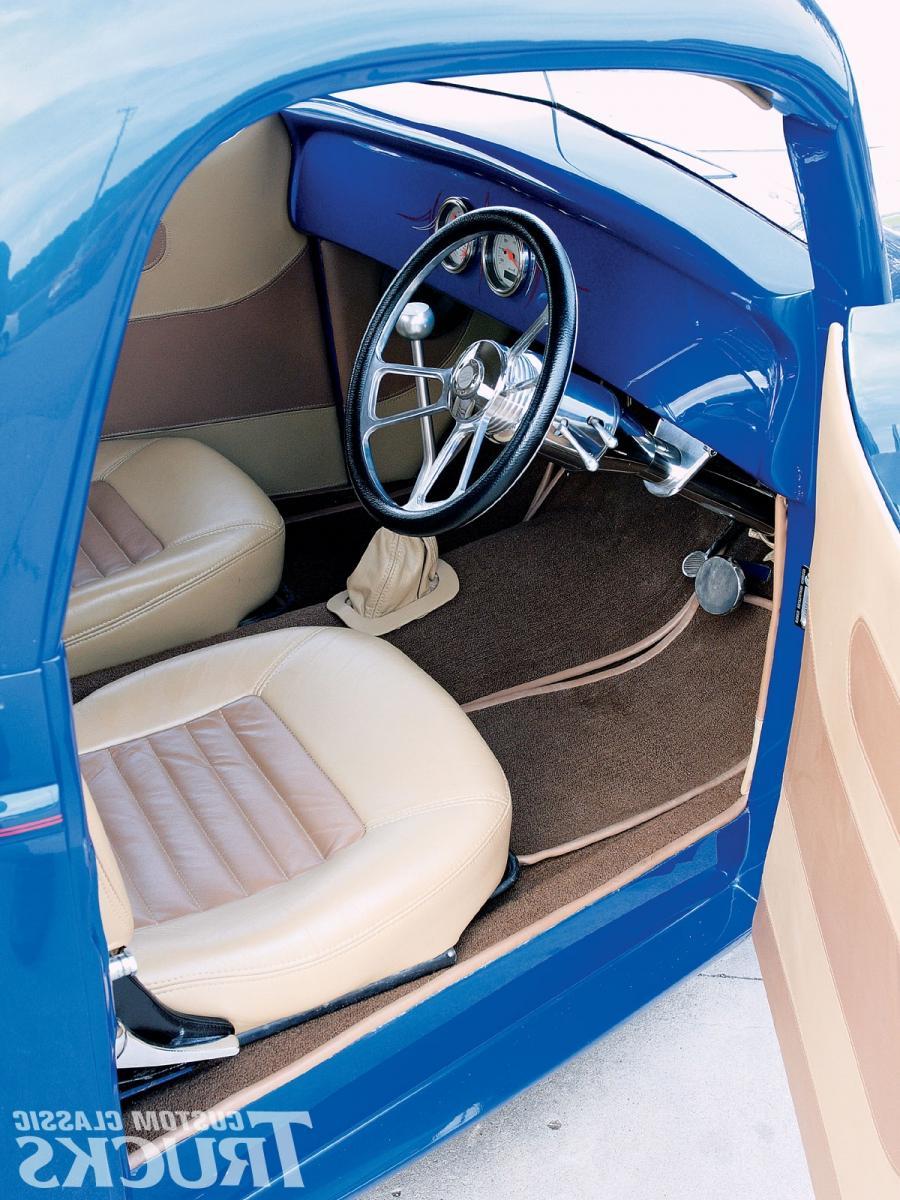 Custom Truck Interior Photos 1941 Ford