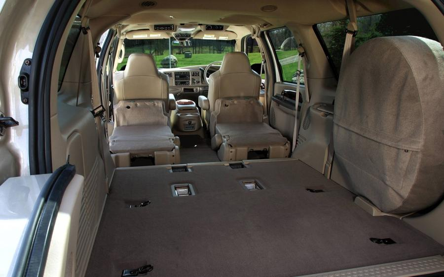 Ford Excursion Photos Interior