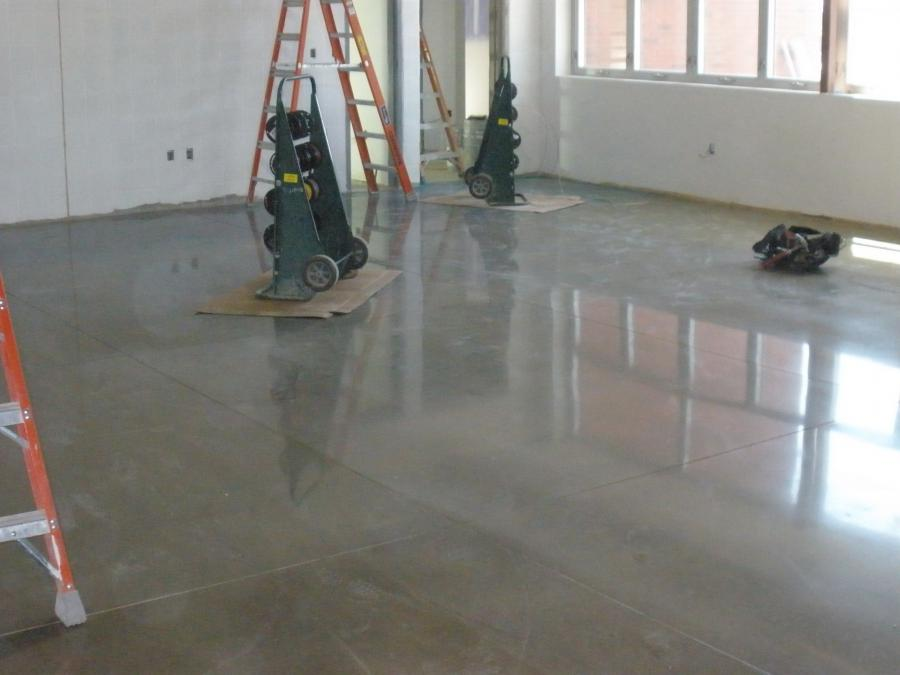 Cement floor photos for Residential concrete floor wax