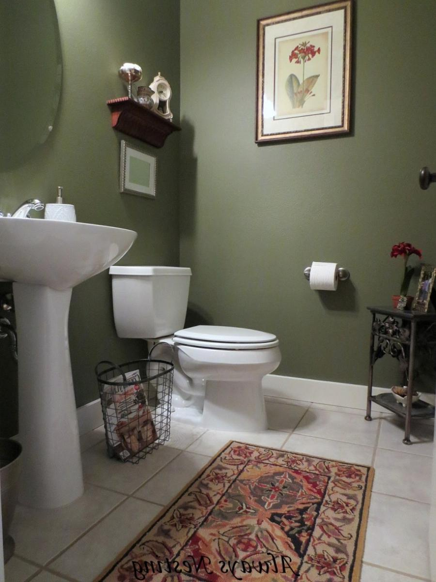 Small Powder Room Design Photos