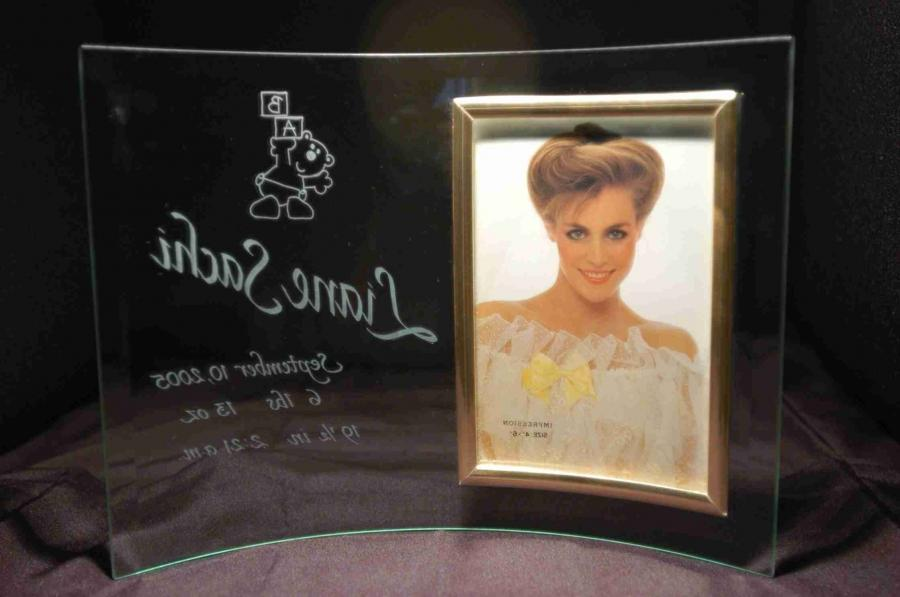 Glass Frames - shop for engraved glass photo frames - Gifts for
