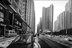 Walking the tunnel (that_streetguy) Tags: temp china road winter...