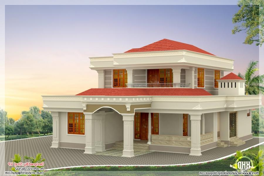 Beautiful house plans with photos in india for Beautiful houses in india with interior