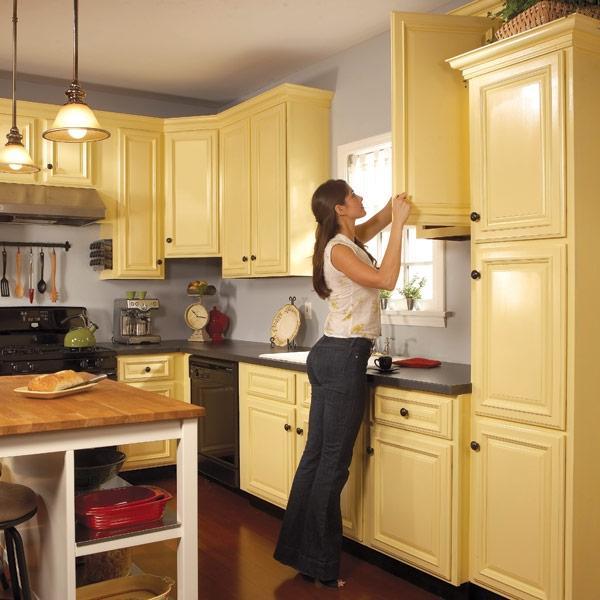 Photos Of Refinishing Kitchen Cabinets