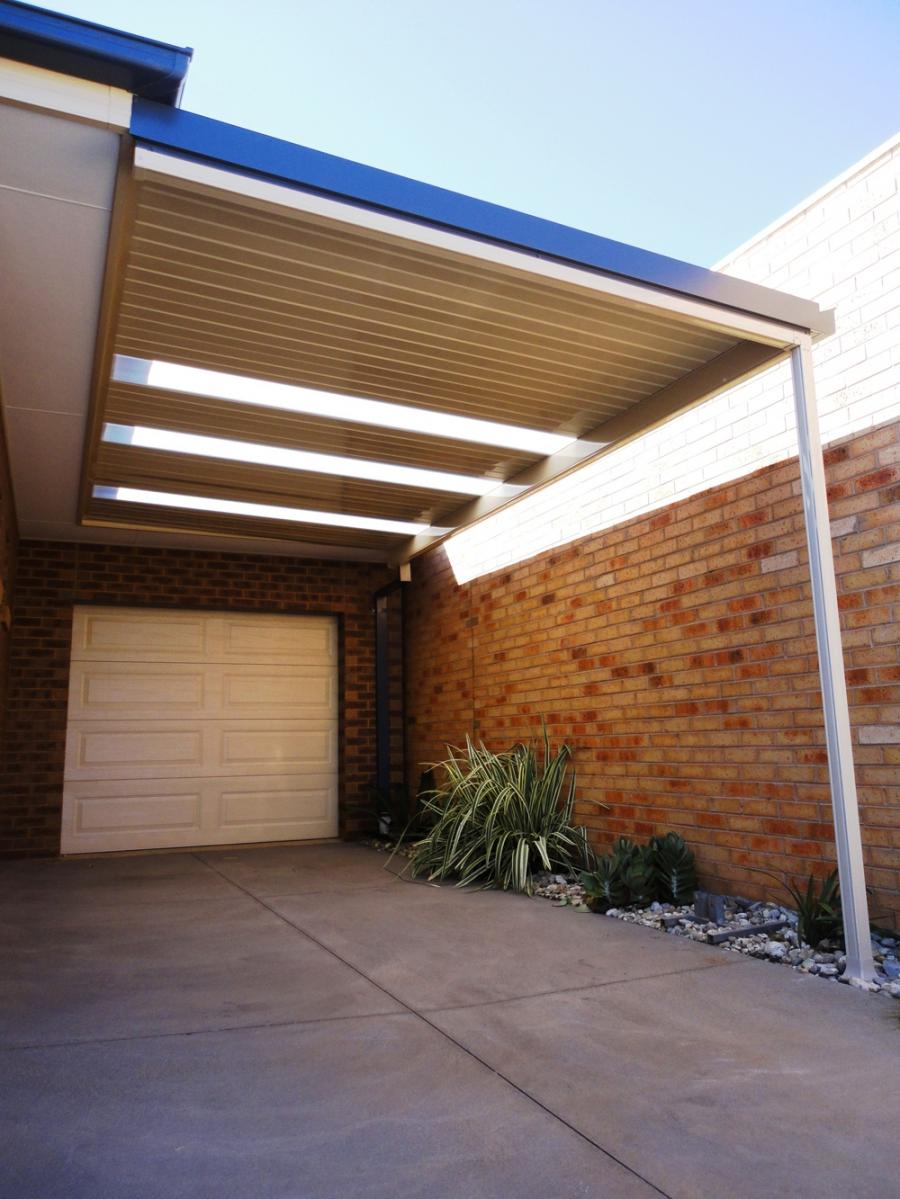 Carport attached to house photos for Attached garage kits