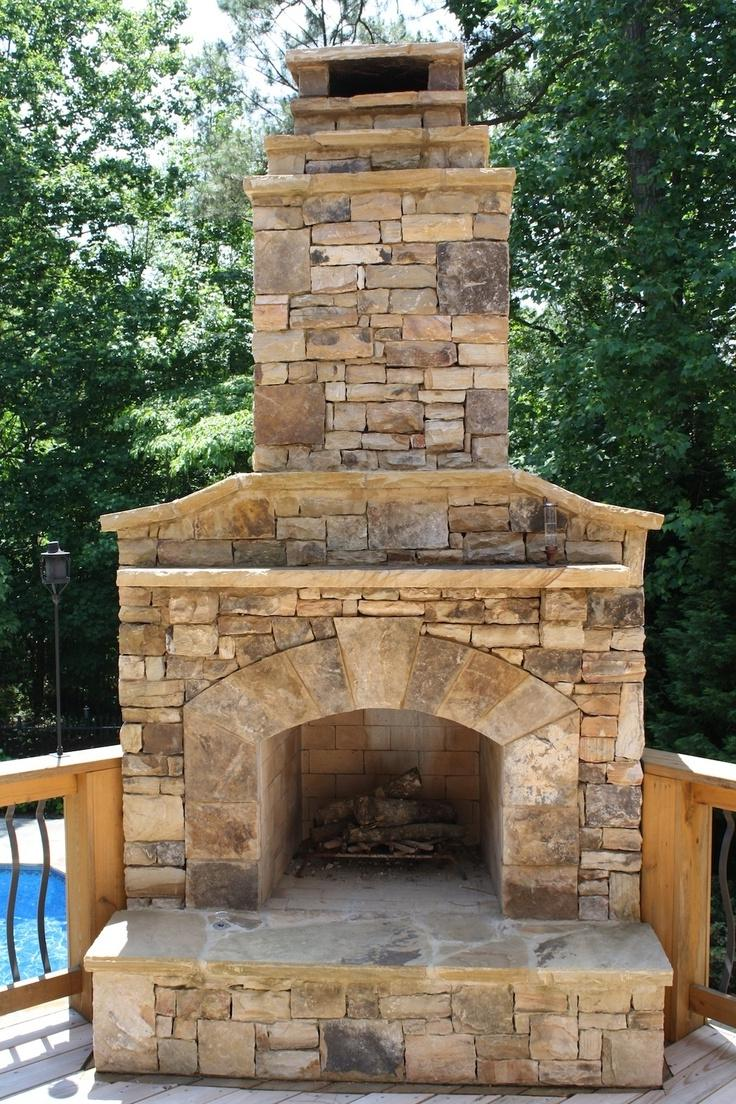 Photos Of Outdoor Stone Fireplaces