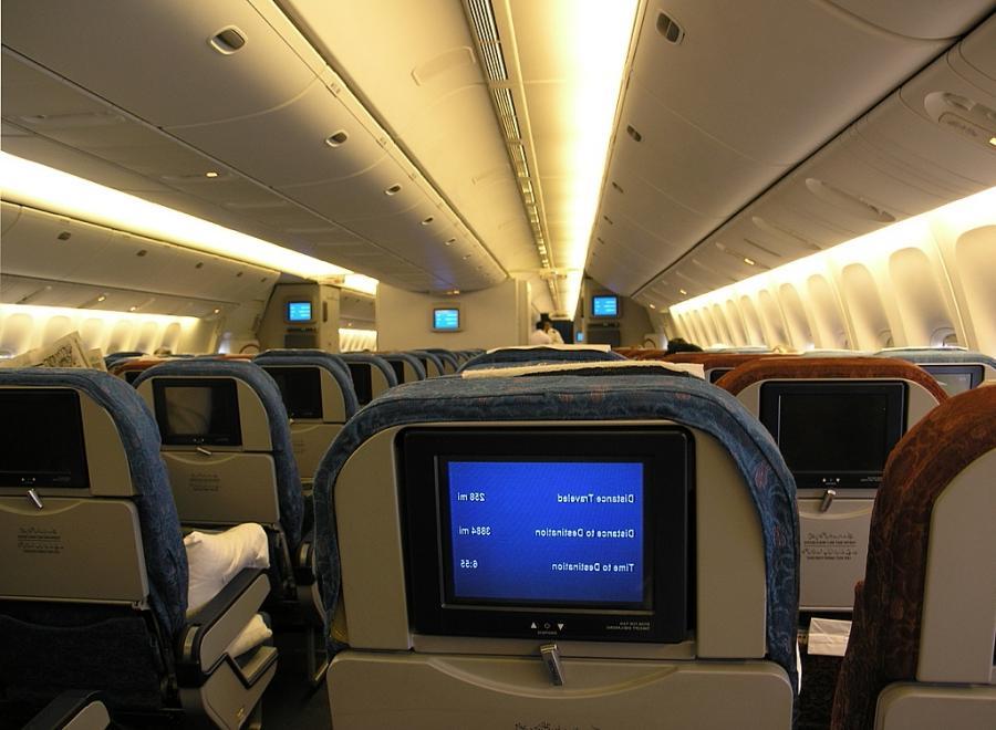 Airplane Interior Photos