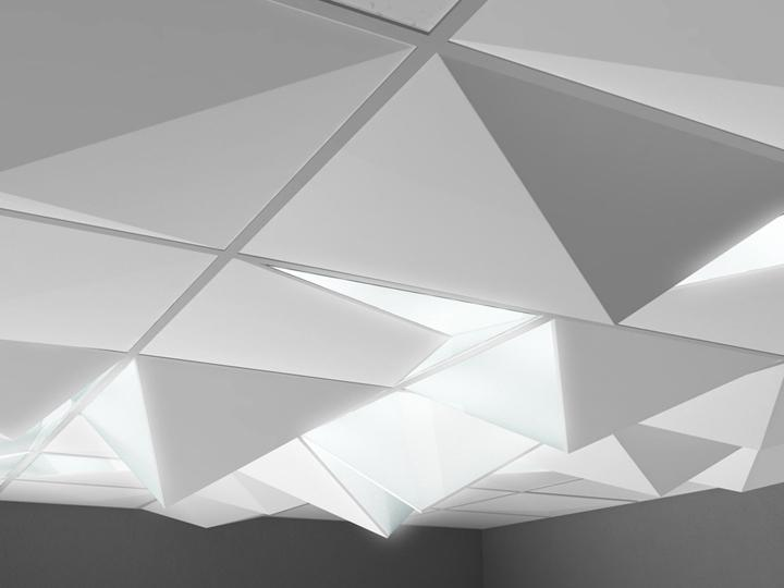 WW is a recessed ceiling light, flexible for large public spaces...
