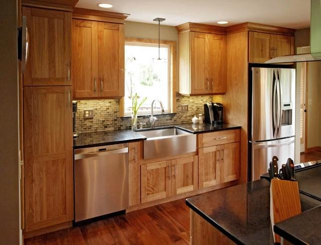 Photos Red Birch Cabinets