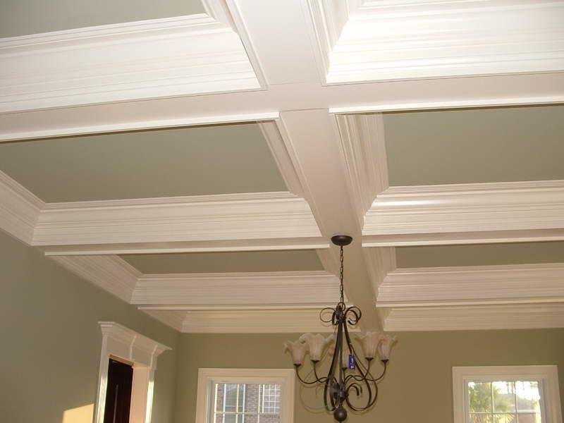 Texture Ceiling With Pale Color Design