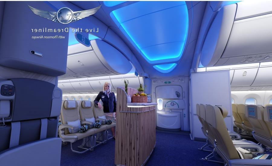 Boeing 787 dreamliner interior photos for Interior 787 dreamliner