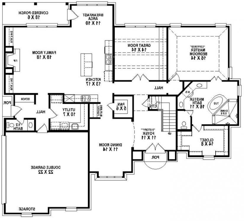 4 bedroom house plans with photos