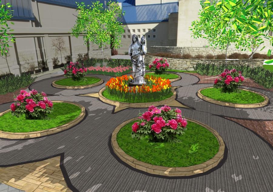 Rosary garden photos for Rosary garden designs