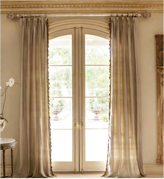 Curtain rod placement