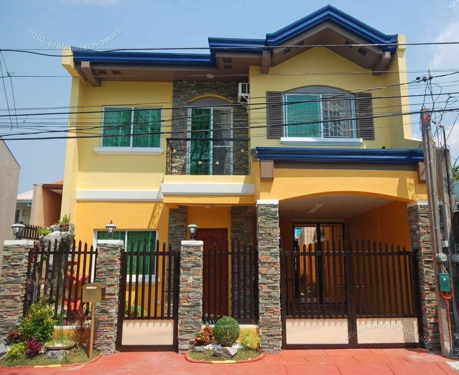 Photos of simple houses in the philippines for Apartment exterior design philippines
