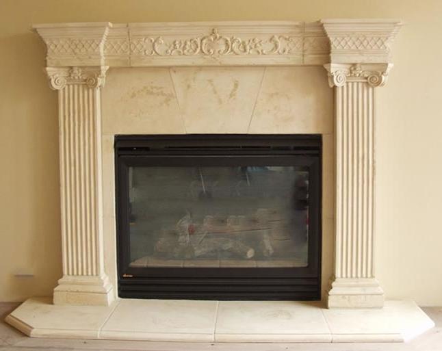 Fireplace Mantel Stone Photos
