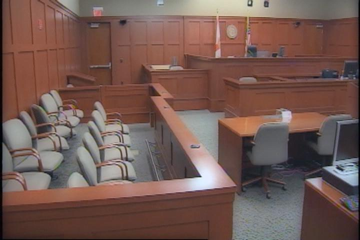 The courtroom where the George Zimmerman trial will be held at...