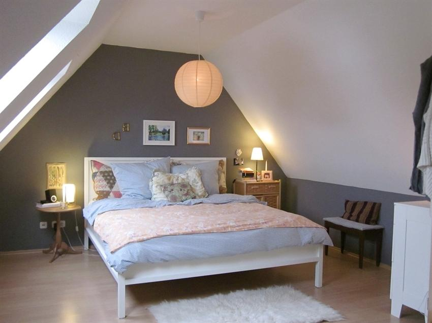 ... Interior,Appealing Attic Bedroom Design Ideas With Grey Wall...