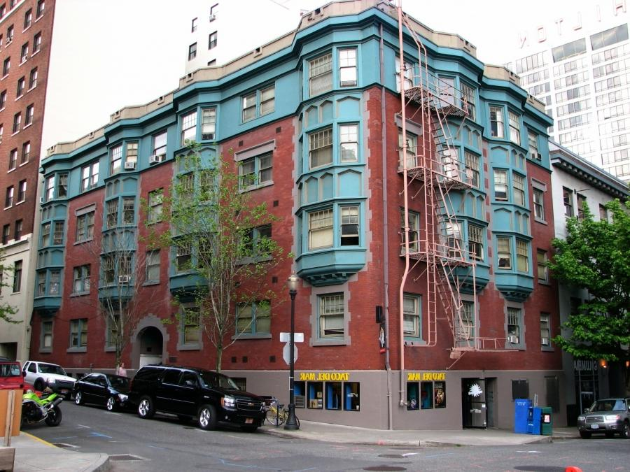 The Wheeldon Apartment Building in 2007