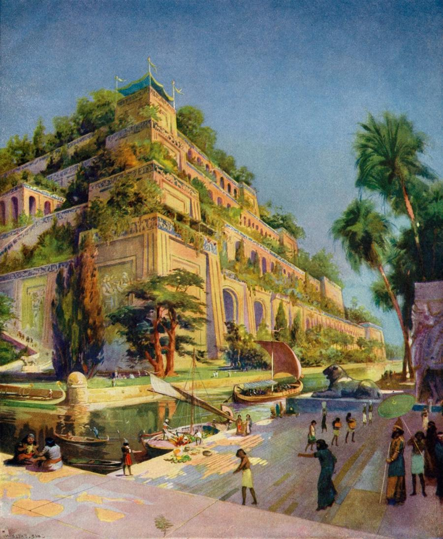 The Hanging Gardens Of Babylon Photos Pictures