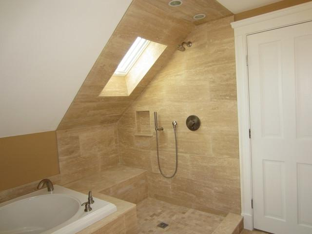 Attic Addition - Master Suite traditional-bathroom