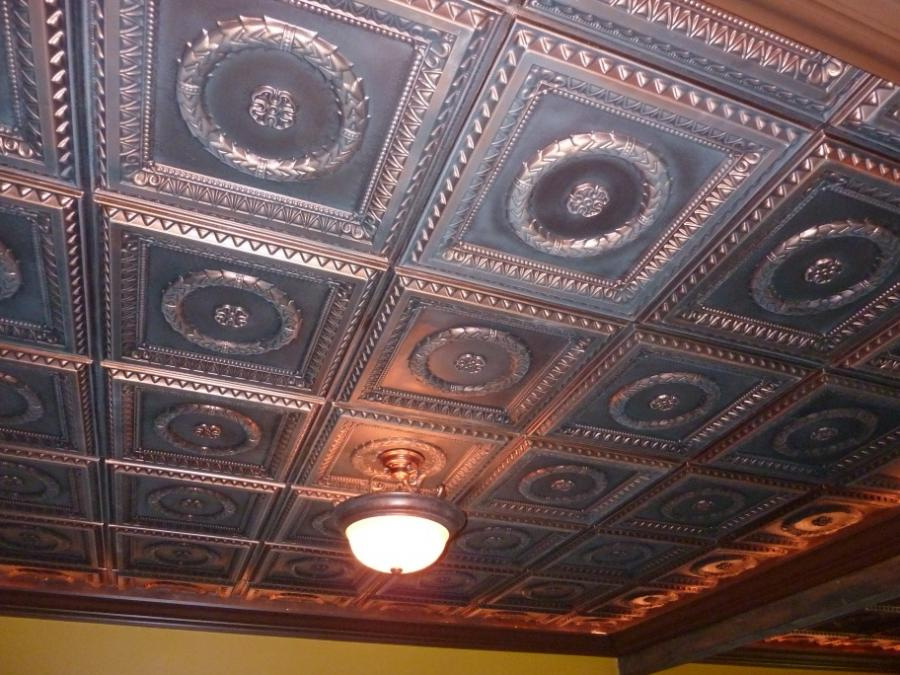 Man cave Tin Ceiling Tiles ideas