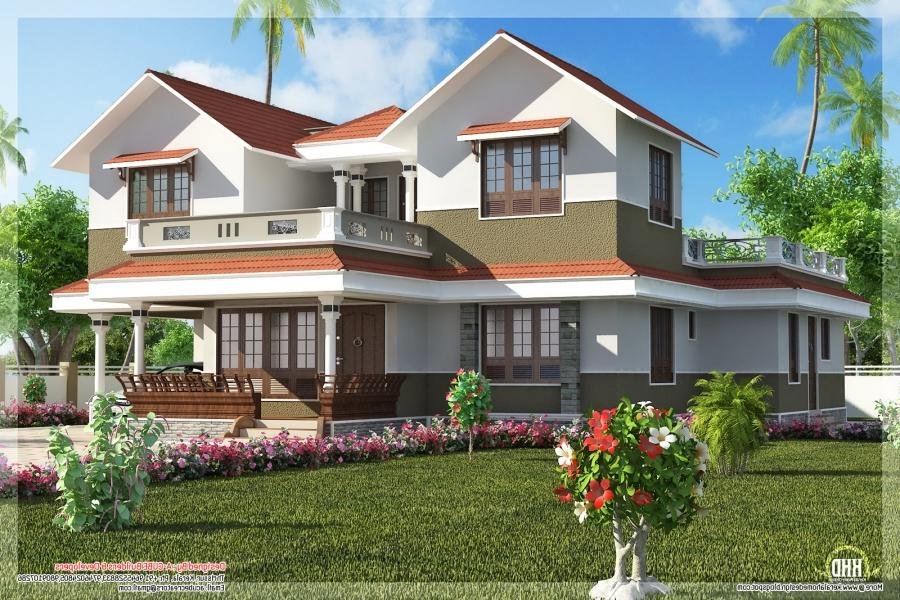 Beautiful small houses pictures in kerala joy studio for Beautiful small house pics
