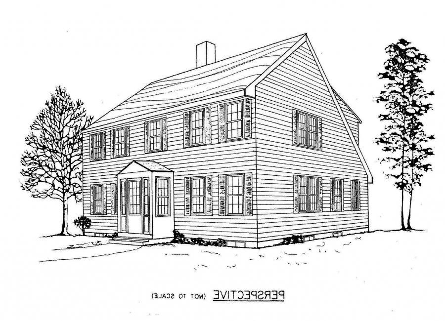 Saltbox House Plans Photos