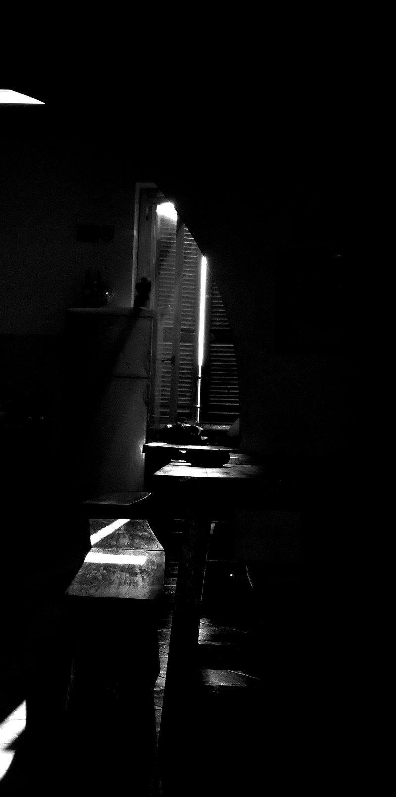 Dark room photography light