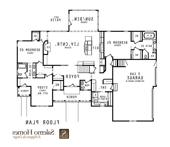 Open concept floor plans photos for Concept homes llc