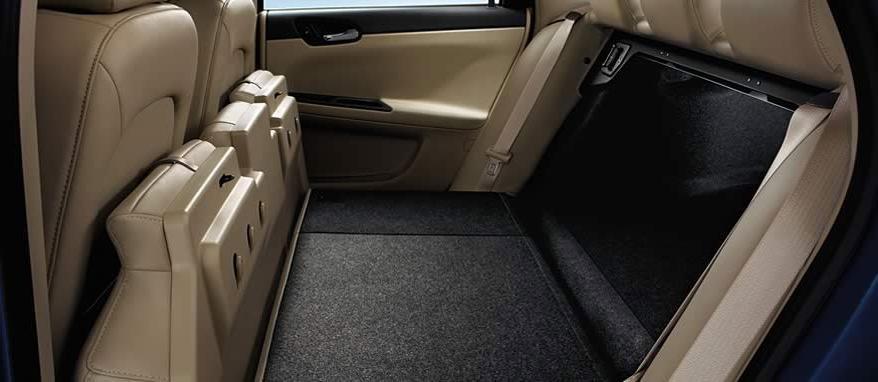 Folding Flat Load Floor Storage Dodge Photo