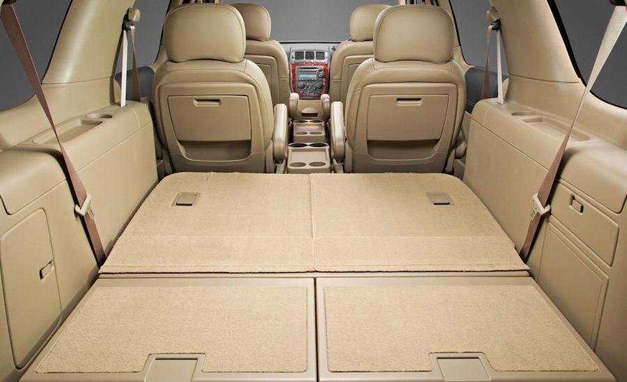 2008 Chevy Uplander Interior Photos
