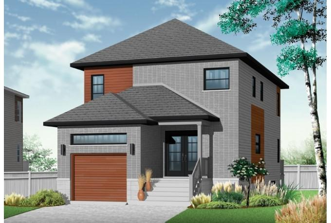 Modern european house plans with photos for European contemporary house plans