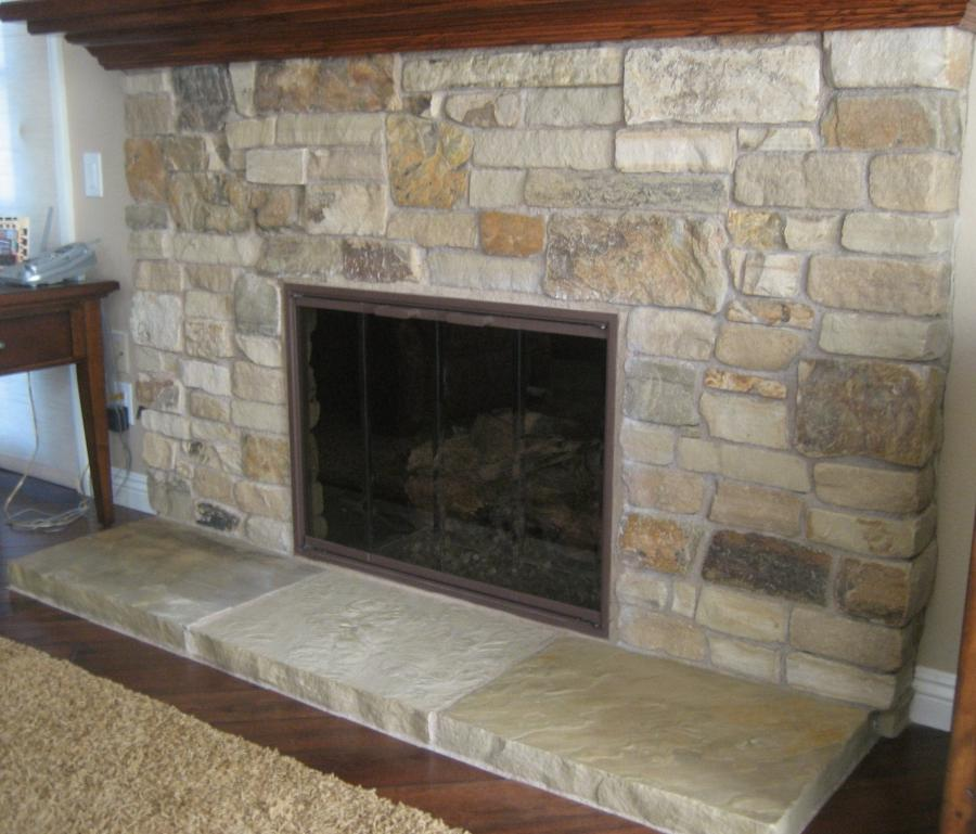 Sandstone Fireplace Photos