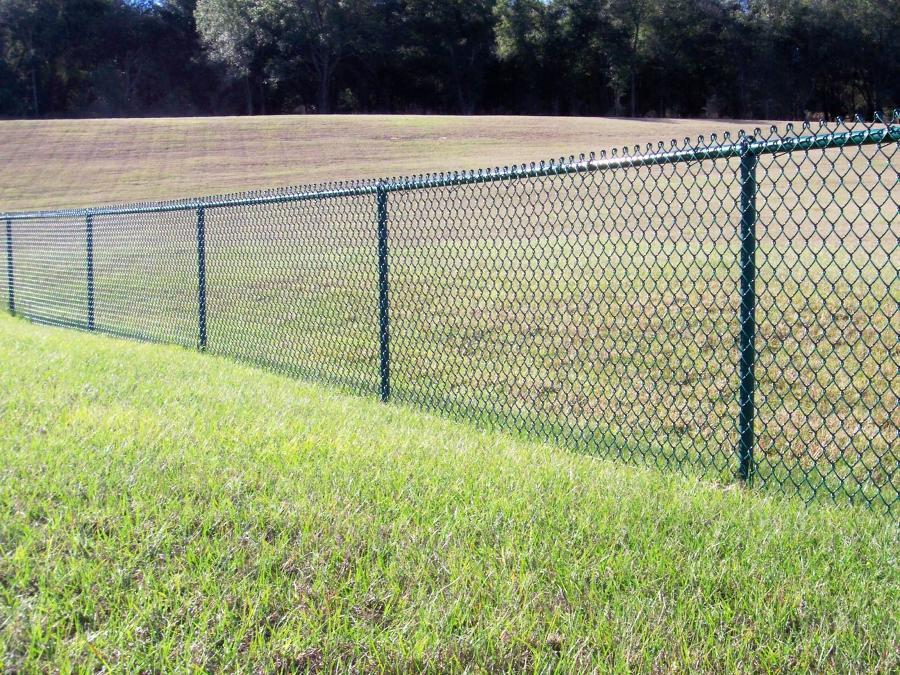 Black Chain Link Fence Photos