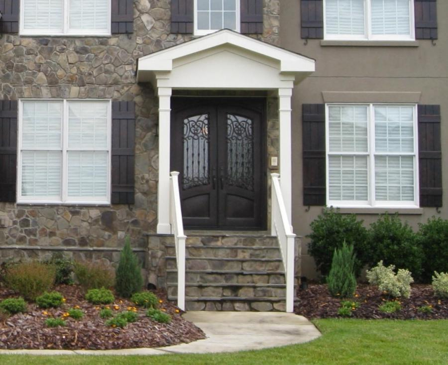 Photos of front entry doors for Exterior doors charlotte nc