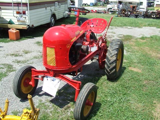 antique garden tractor photos