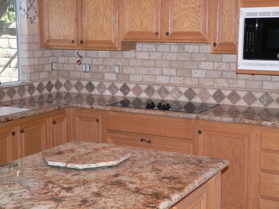 Photos Kitchen Backsplash Tumbled Travertine