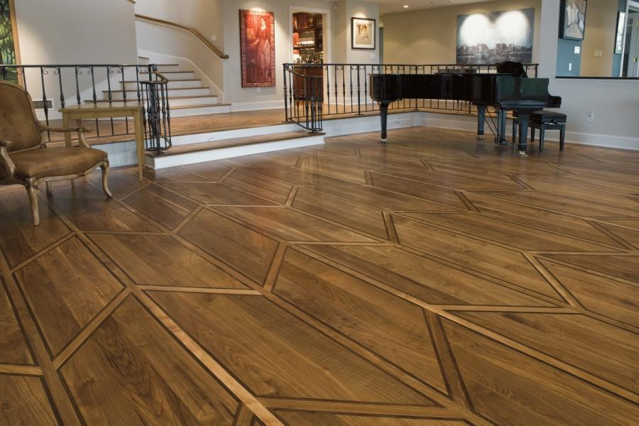 Classic Elegant Home Interior Beautiful Hardwood Floor Designs