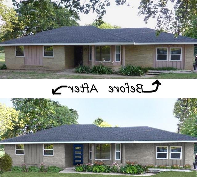 Exterior Color Schemes For Ranch Style Homes: Ranch House Exterior Photos