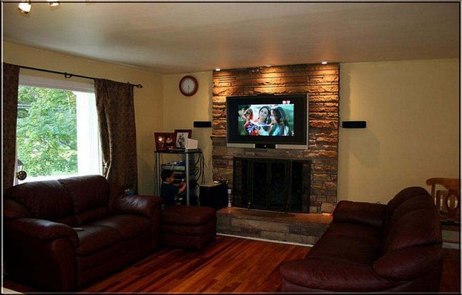 Contemporary amp Modern Fireplace Mantels and Surrounds