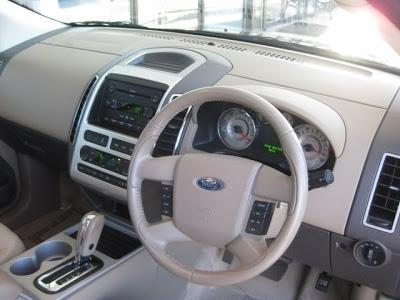 2010 ford edge interior photos. Black Bedroom Furniture Sets. Home Design Ideas