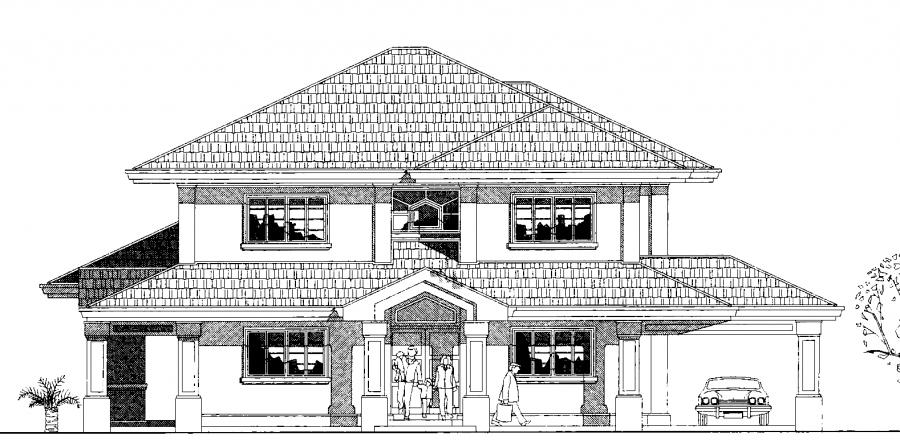 Duplex House Elevation, Duplex House Designs, Duplex Home Plans ...