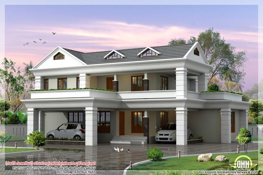 Photo gallery of beautiful houses Hause on line