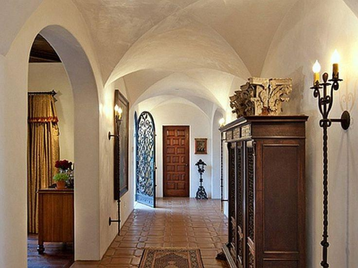 Spanish Colonial Revival Home Hall Interior Design Source