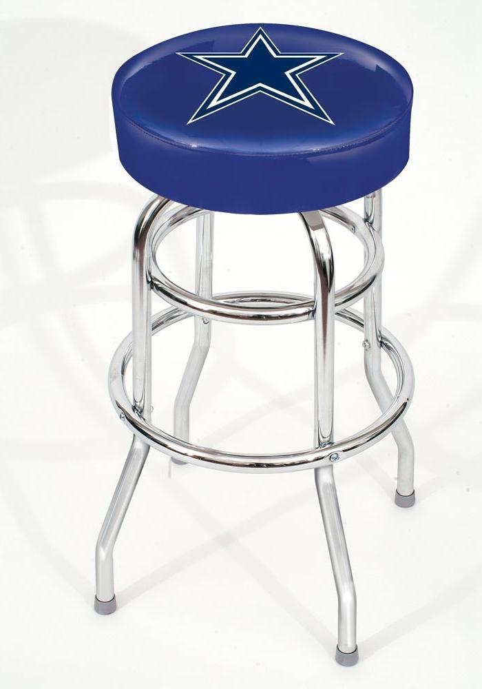 Dallas Cowboys Bar Stool Nfl Leather Home Decor