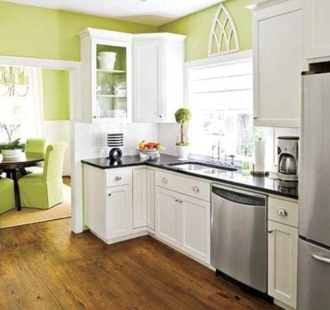 photos of refinishing kitchen cabinets