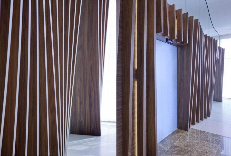 Divider photo room wooden - Stylish room divider ...
