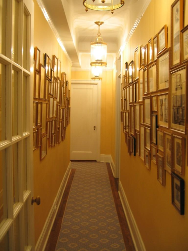 How To Arrange Family Photos In Hallway