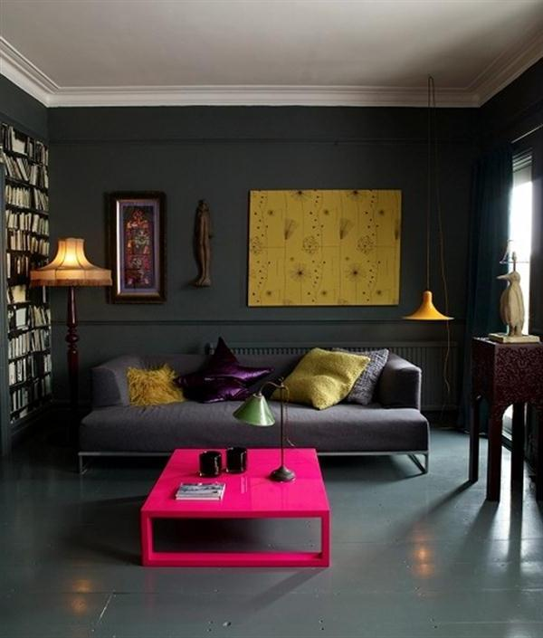 ... modern apartment living room decorating idea ...